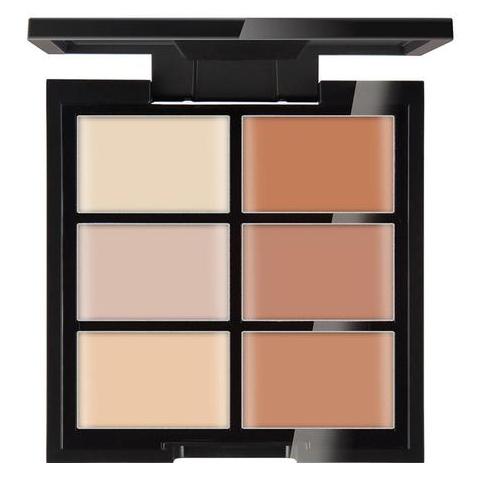 6 Color Contour Cream Palette