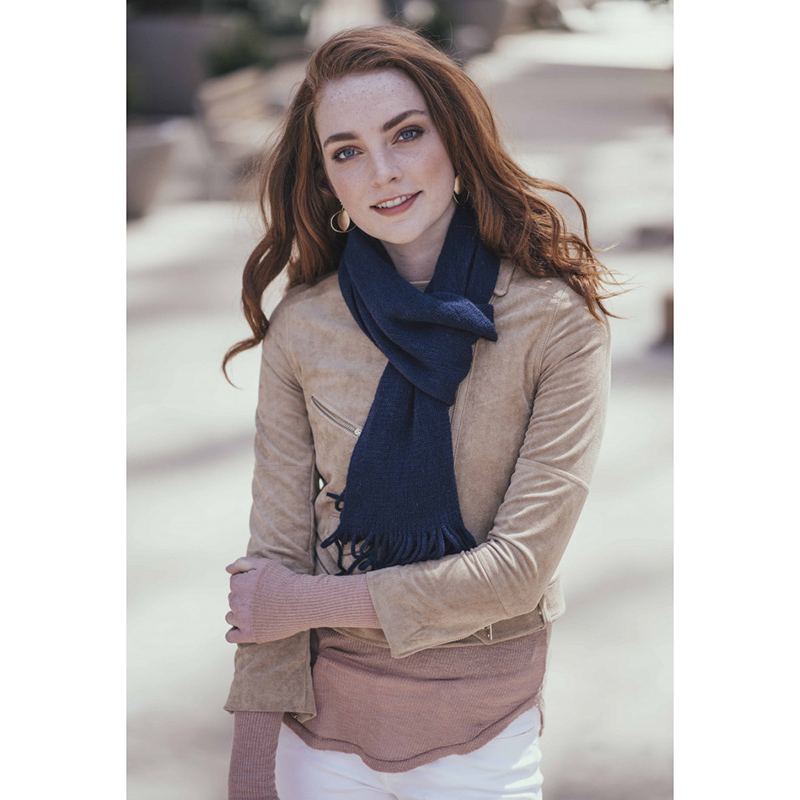 Jack  amp  Missy Fringed Knit Scarf- Assorted Colors