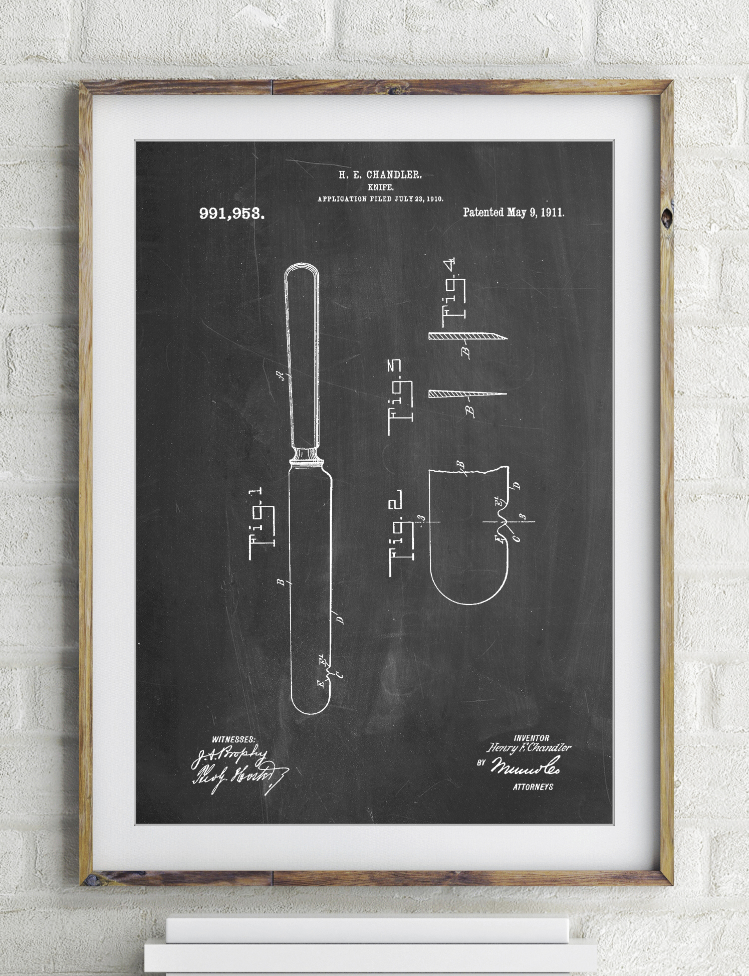 Meat Knife Poster