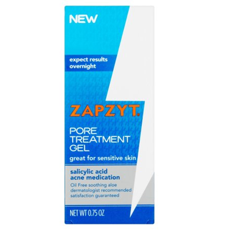 Zapzyt Pore Treatment Gel, with Salicylic Acid, 0.75 Oz