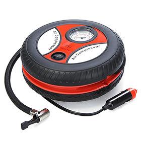 Air Compressor Portable W  Car Lighter Adapter  amp  3 Nozzle Adapters ab205dca9d88