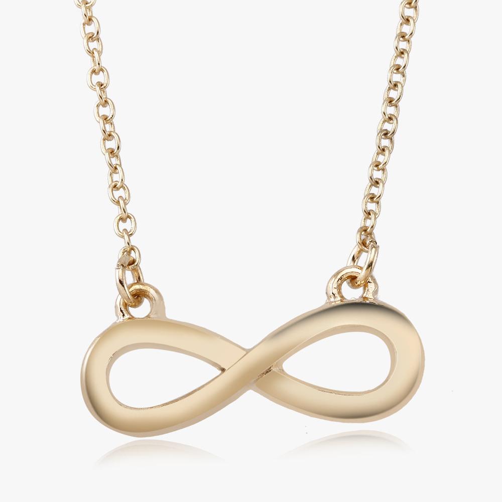 Infinity Drop Necklace