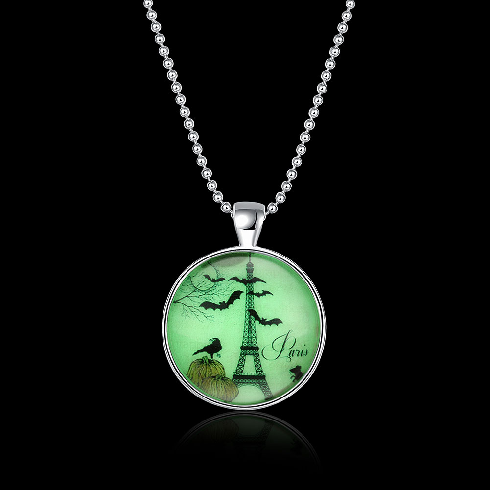 Holloween in Paris Glow in the Dark Necklace 72c51b842854