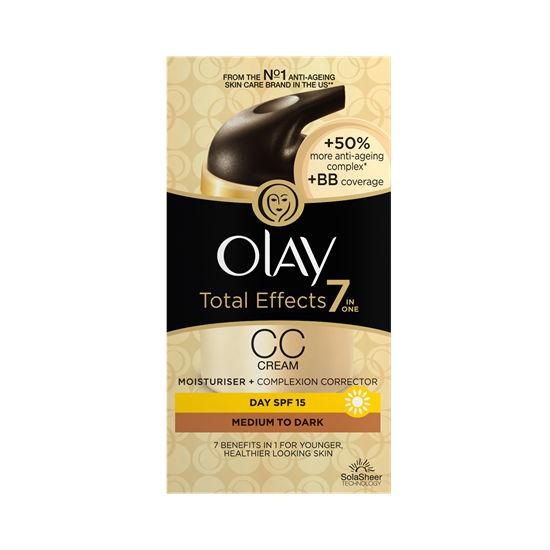 Olay Total Effects 7 in 1 CC Cream Moisturizer, Medium To Dark (1.7 oz
