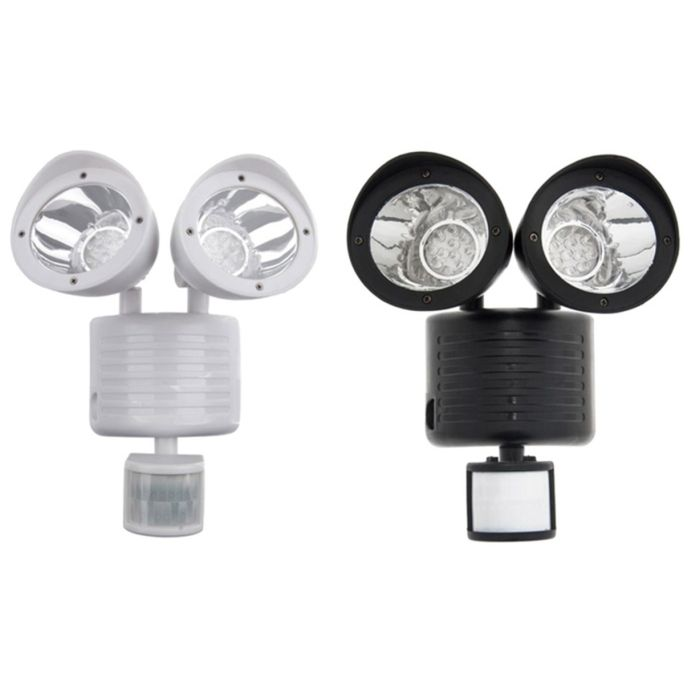 Outdoor Nation 22-LED Solar Powered Security Light (Black or White)
