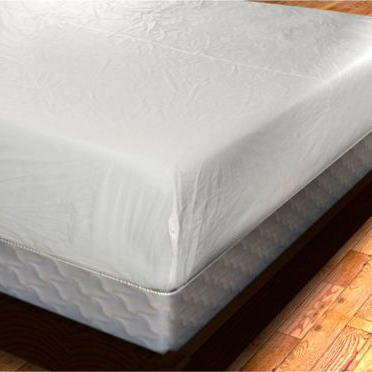 Deluxe Zippered Vinyl Bed Bug Proof Mattress Cover Tanga