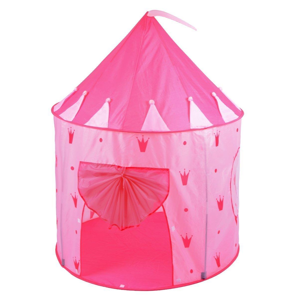 Alina Girl Pink Play Tent Crown Indoor Outdoor Princess Castle