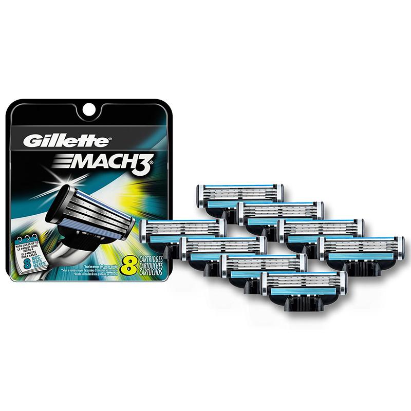 8-Pack Gillette Mach3 Razor Refill Cartridges 66f4c7fb7127