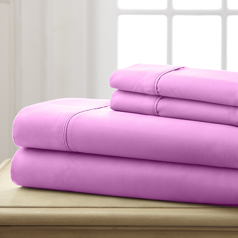 Hotel 5th Ave. Super Bright Collection Microfiber Sheet Set