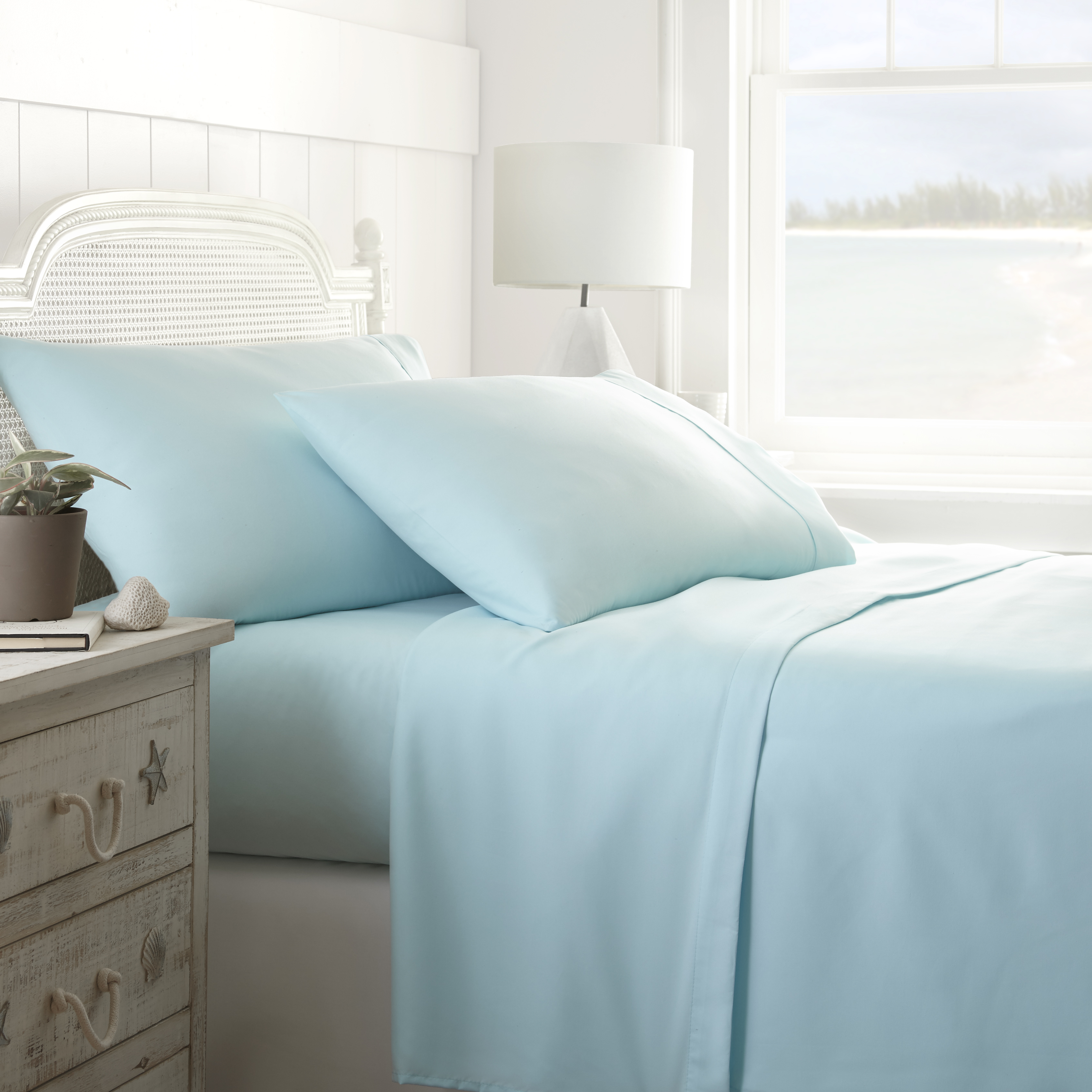 Beautiful Urban Loft Luxury Performance 4 Piece Bed Sheet Set   Tanga