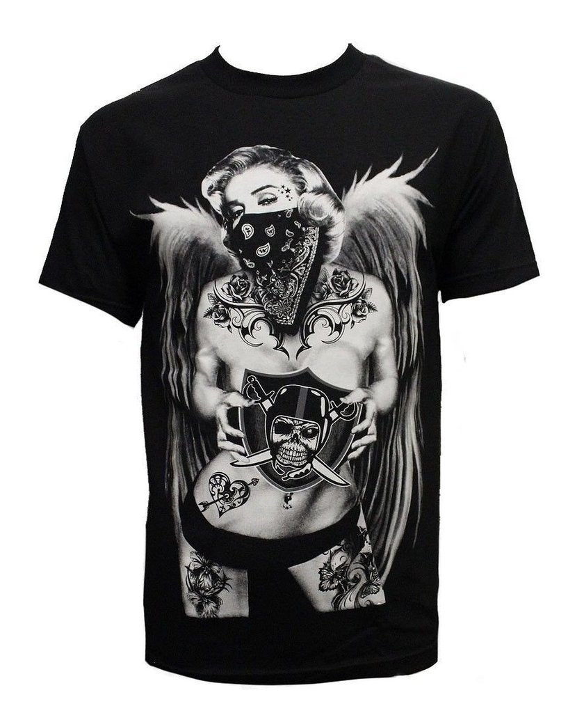 Fashion Graphic T-shirts - Raider Marilyn