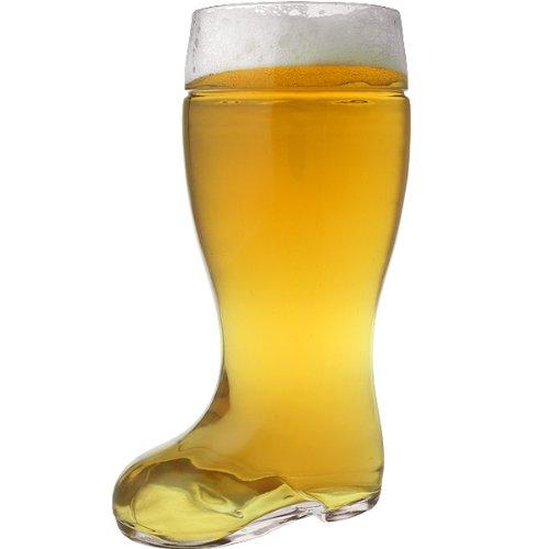 Oktoberfest Style Glass Beer Boot Stein - 2 Liter 792eb3e0e62c