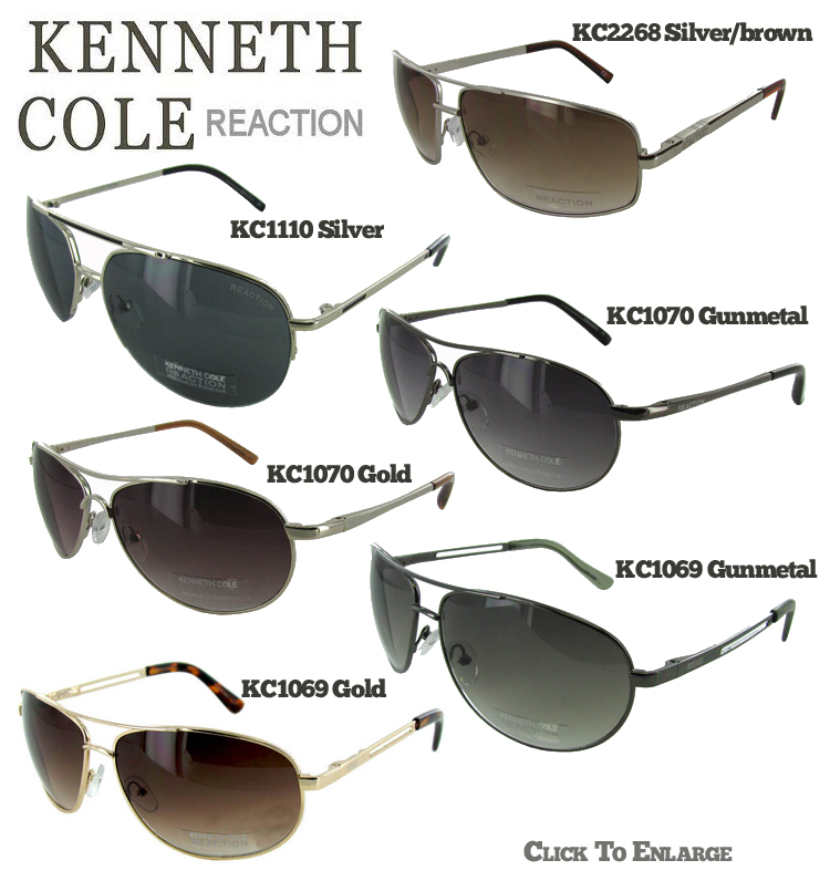 57e07807a Kenneth Cole Reaction Men's Sunglasses - Tanga