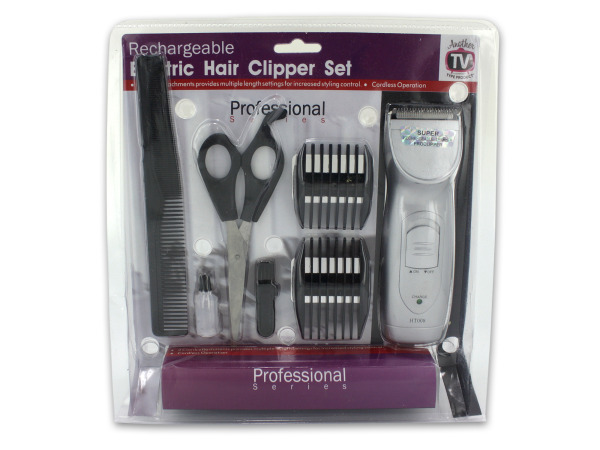 Rechargeable Hair Clipper Set 794455c89c48