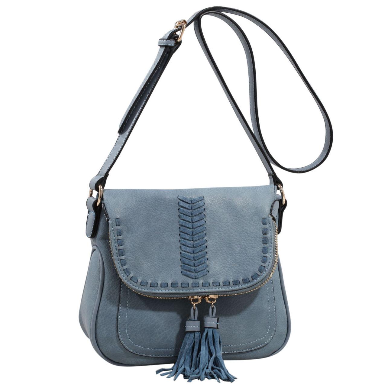 MKF Collection Soho New York Saddle Bag