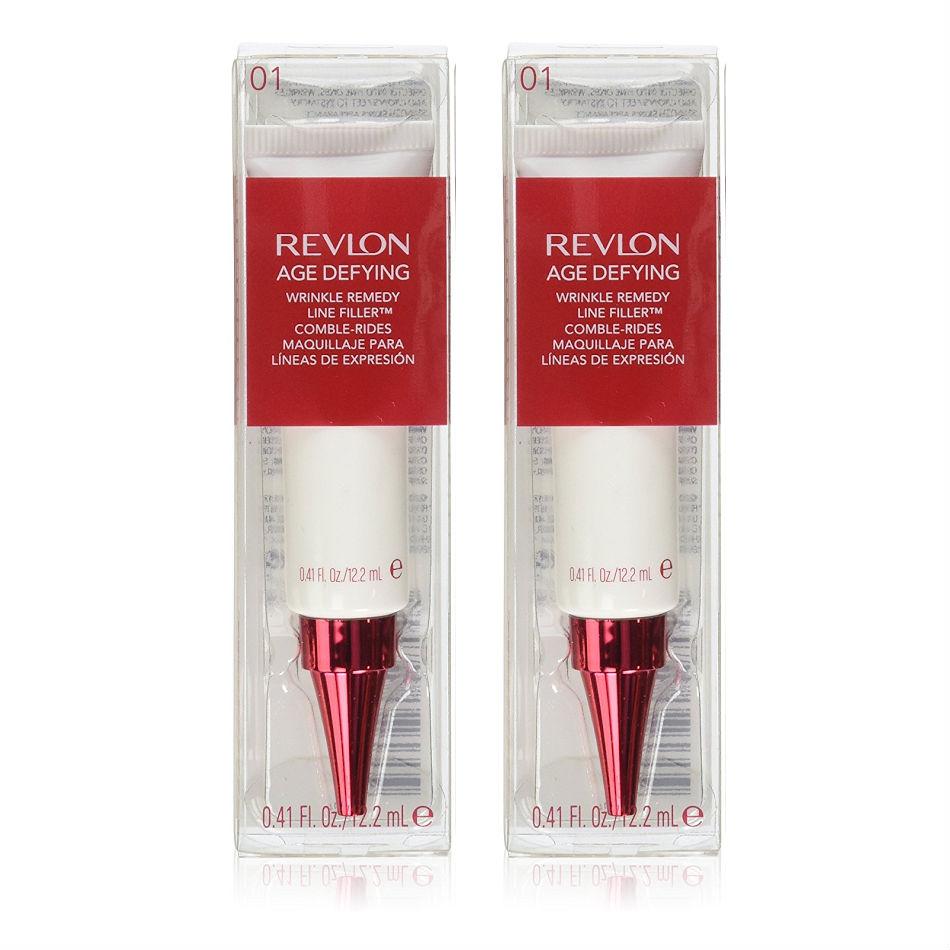 Revlon Age Defying Wrinkle Remedy Line Filler, 0.41 Oz - Choose Pack S