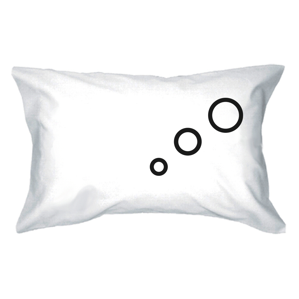 Cute Matching Pillow Cases : Thinking Cloud Matching Couple Pillowcase - Tanga