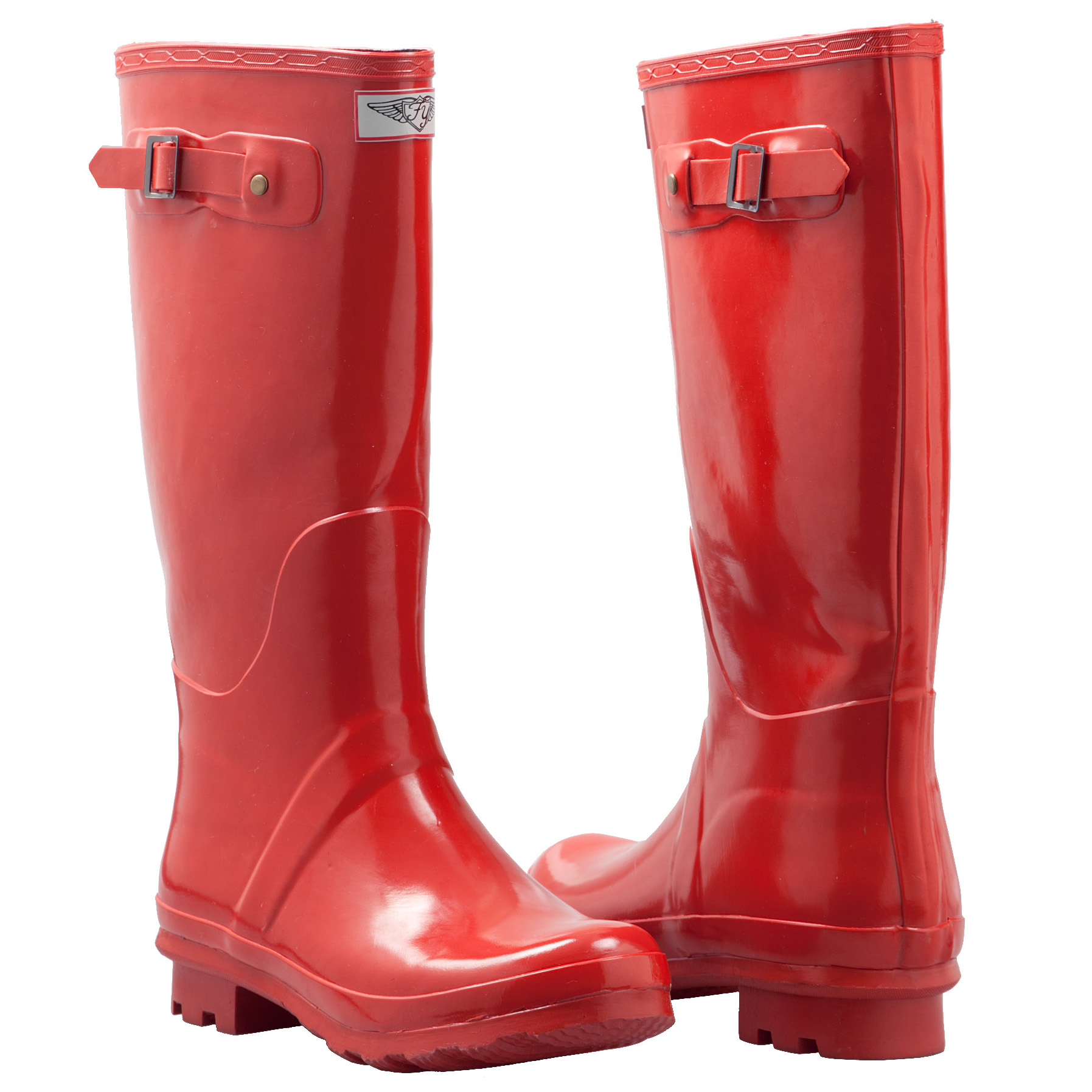 Forever Young Women's Tall Rubber Rain Boots - Tanga