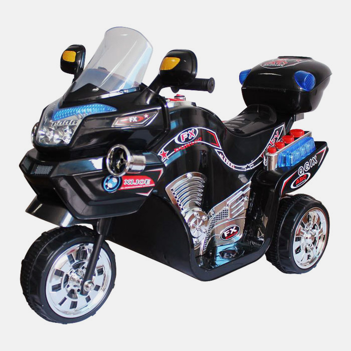 Lil  Rider FX 3 Wheel Battery Powered Bike - Black