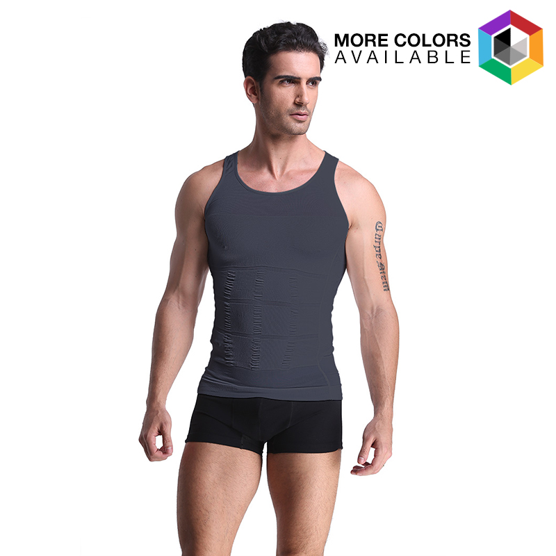 Men s Compression and Body-Support Undershirt