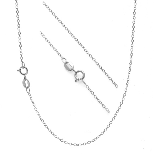 cable stainless chain necklace steel