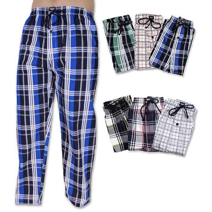 2-Pack Men s Cotton Drawstring Lounge Pants (S-2X)