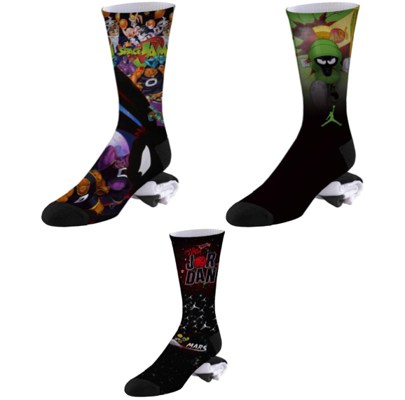 3 Pairs of SpaceJam Basketball Socks for $25