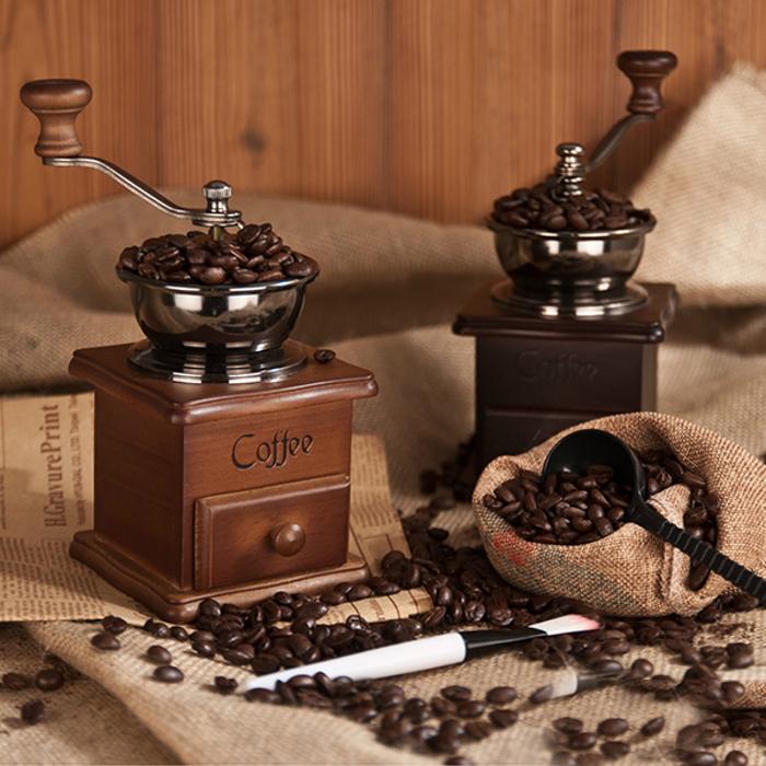 Retro Manual Coffee Grinder 4cf8241cff69