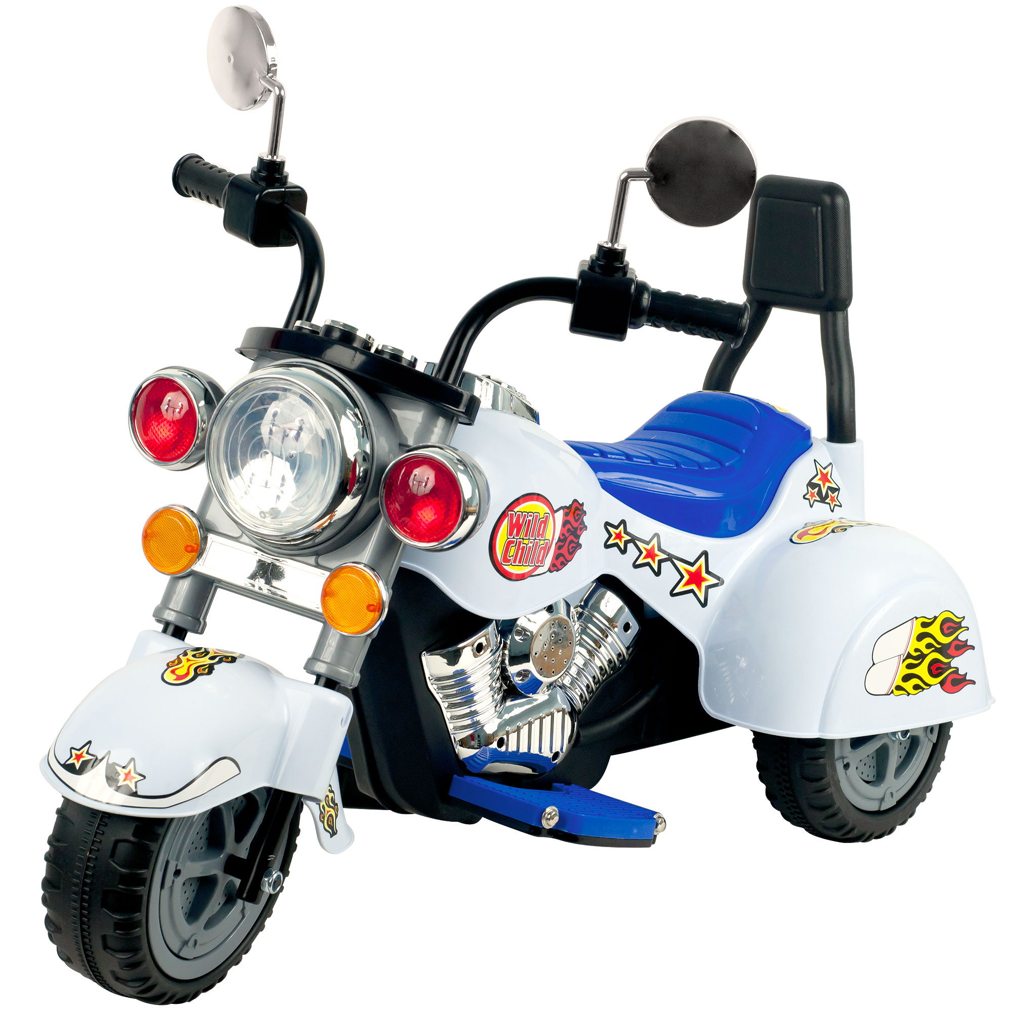 Lil  Rider White Knight Motorcycle 115210