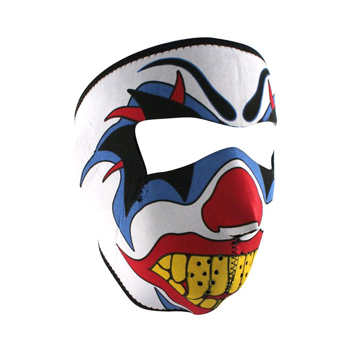 Clown Graphical Neoprene Full Face Mask aa511a69281d