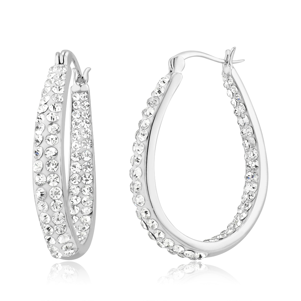 matte earrings sale caring oval chloe silver for gold resized large sultan the or karine crystal