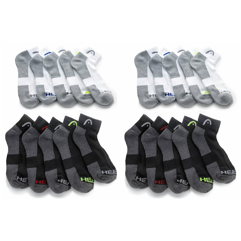 20 Pairs of Men s HEAD Moisture-Wicking Socks 6336832