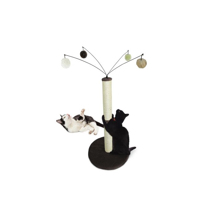 Tiger Tough Fuzzball Cat Scratcher 4609136