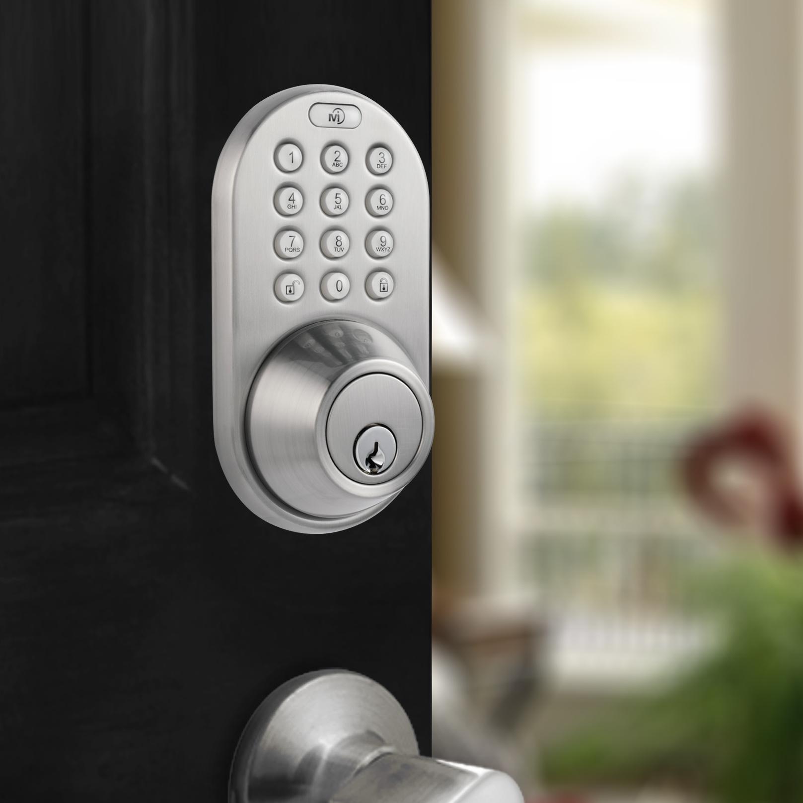 Milocks Df 02sn Keyless Entry Touchpad Deadbolt Door Lock