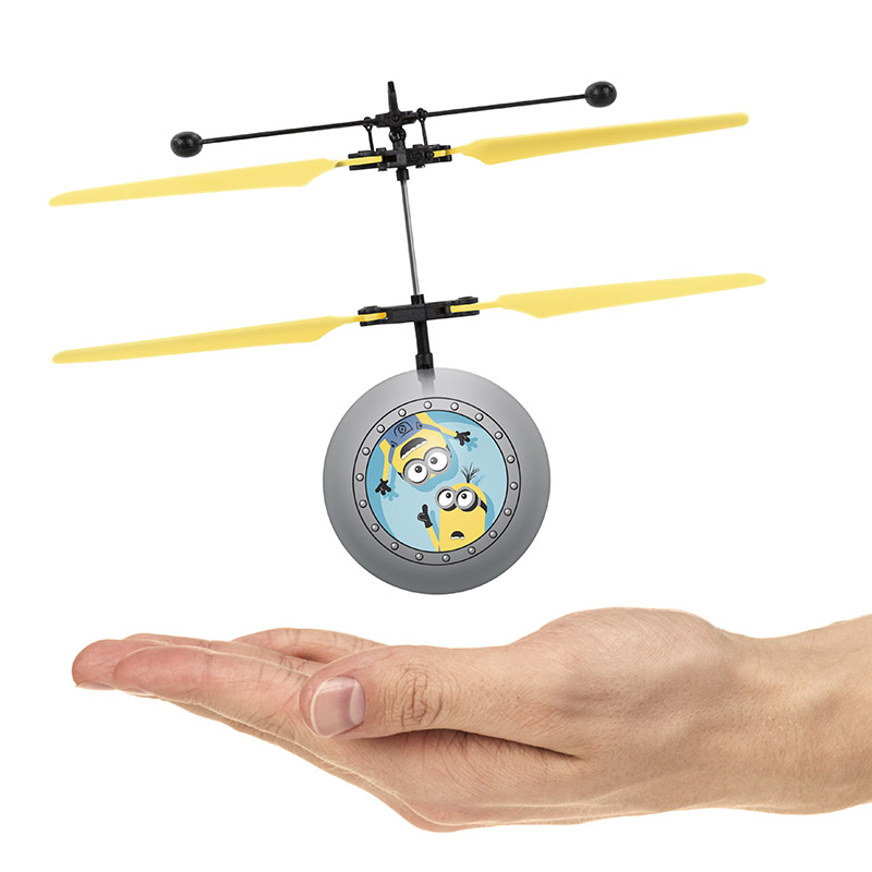 Universal Despicable Me Minions IR UFO Ball Helicopter 63ad27058e13