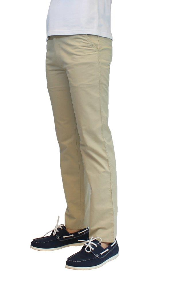 Men s Galaxy By Harvic 100% Cotton Flat Front Chino Pants