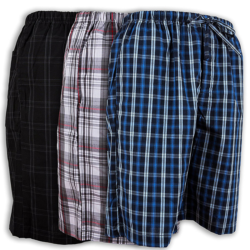 3-Pack: Andrew Scott Men's Lounge Shorts (S-5X)