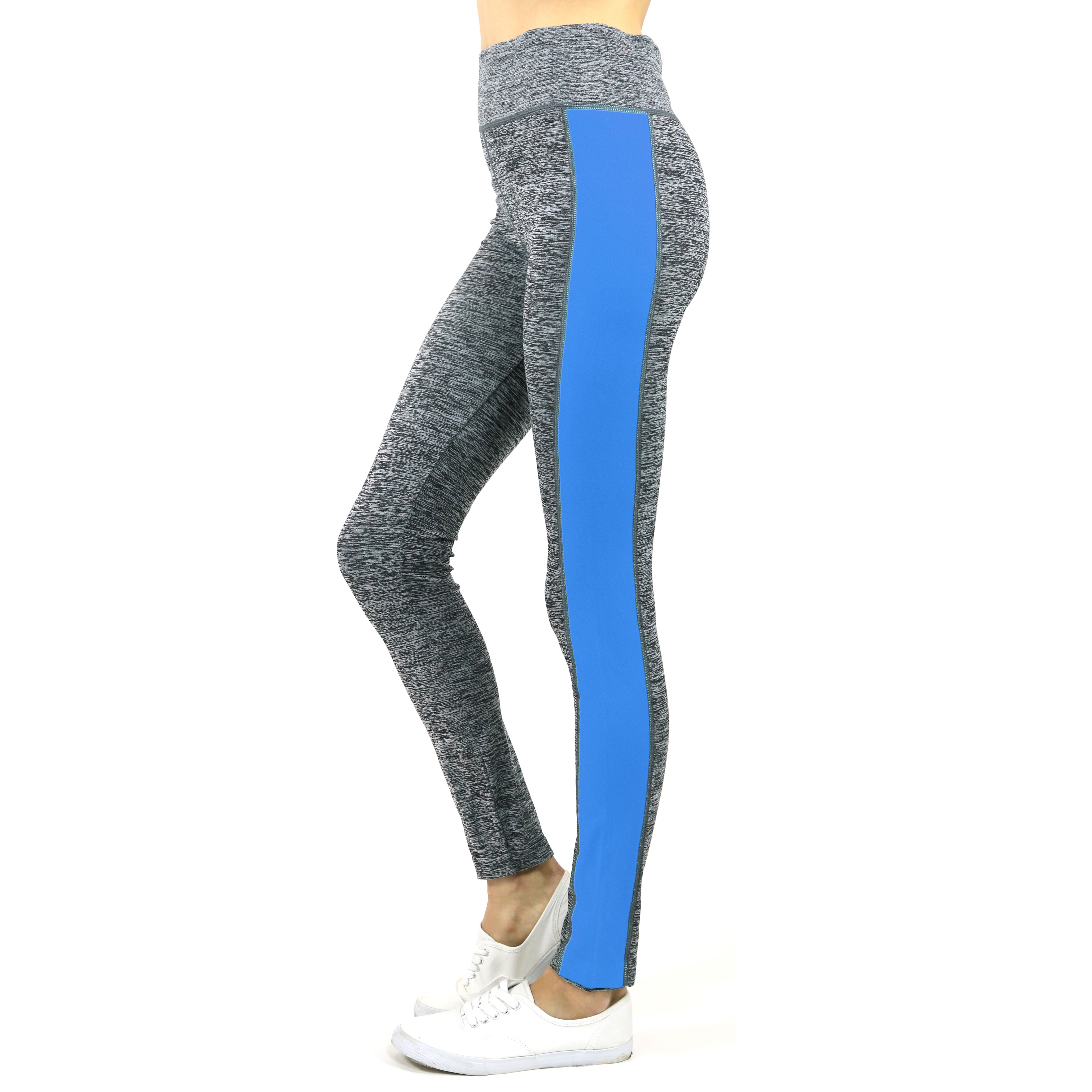 Womens Two-Tone Space Dye Leggings - Tanga