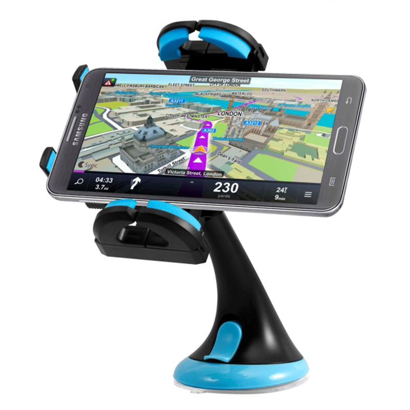 360  Swivel Padded Auto Smartphone Holder by Green Alien