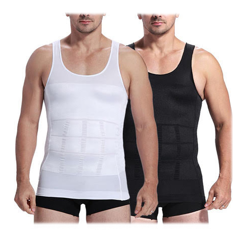 Insta Trim Compression  amp  Body Support Undershirt