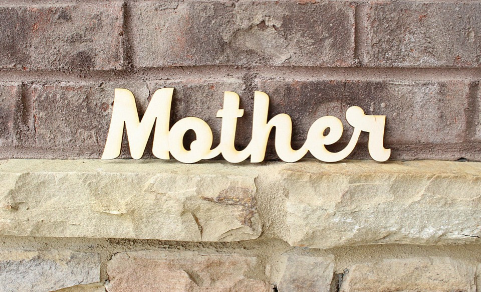 Laser Cut Personalized Wood Name Signs Bellechic