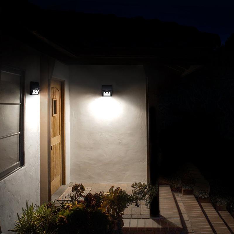 Techno Earth Wireless Solar Powered Motion Sensor LED Light