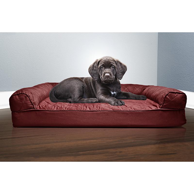 Quilted Orthopedic Sofa Pet Bed Tanga