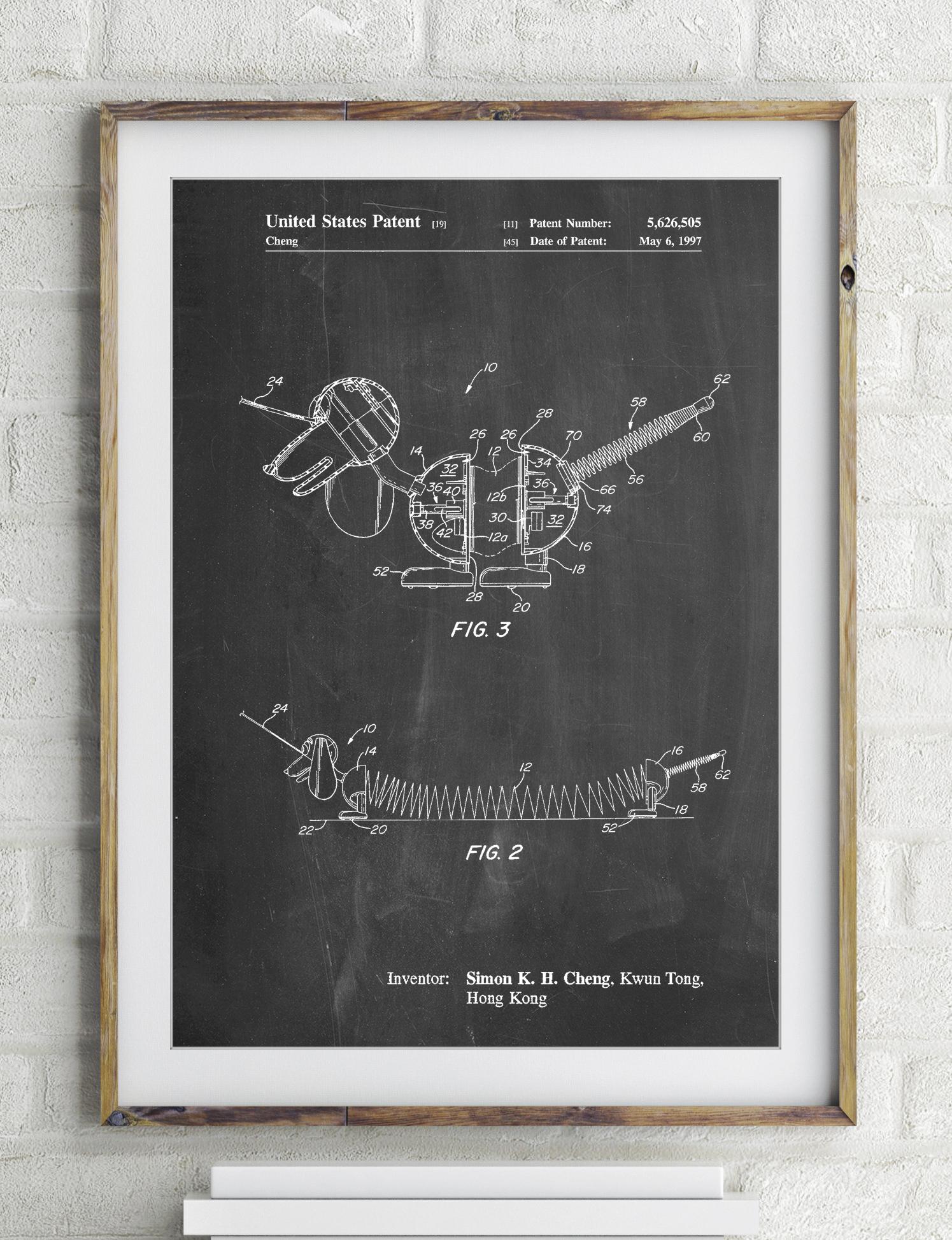 Slinky Dog Patent Poster 4bea65653071
