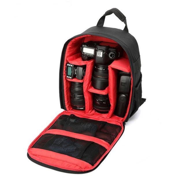 Durable Waterproof DSLR Camera Backpack