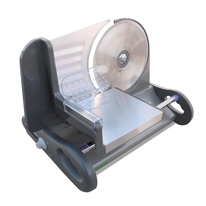 Shamrock  X-Large 8.5 Stainless Steel Food Slicer w Speed Control f4c259684949