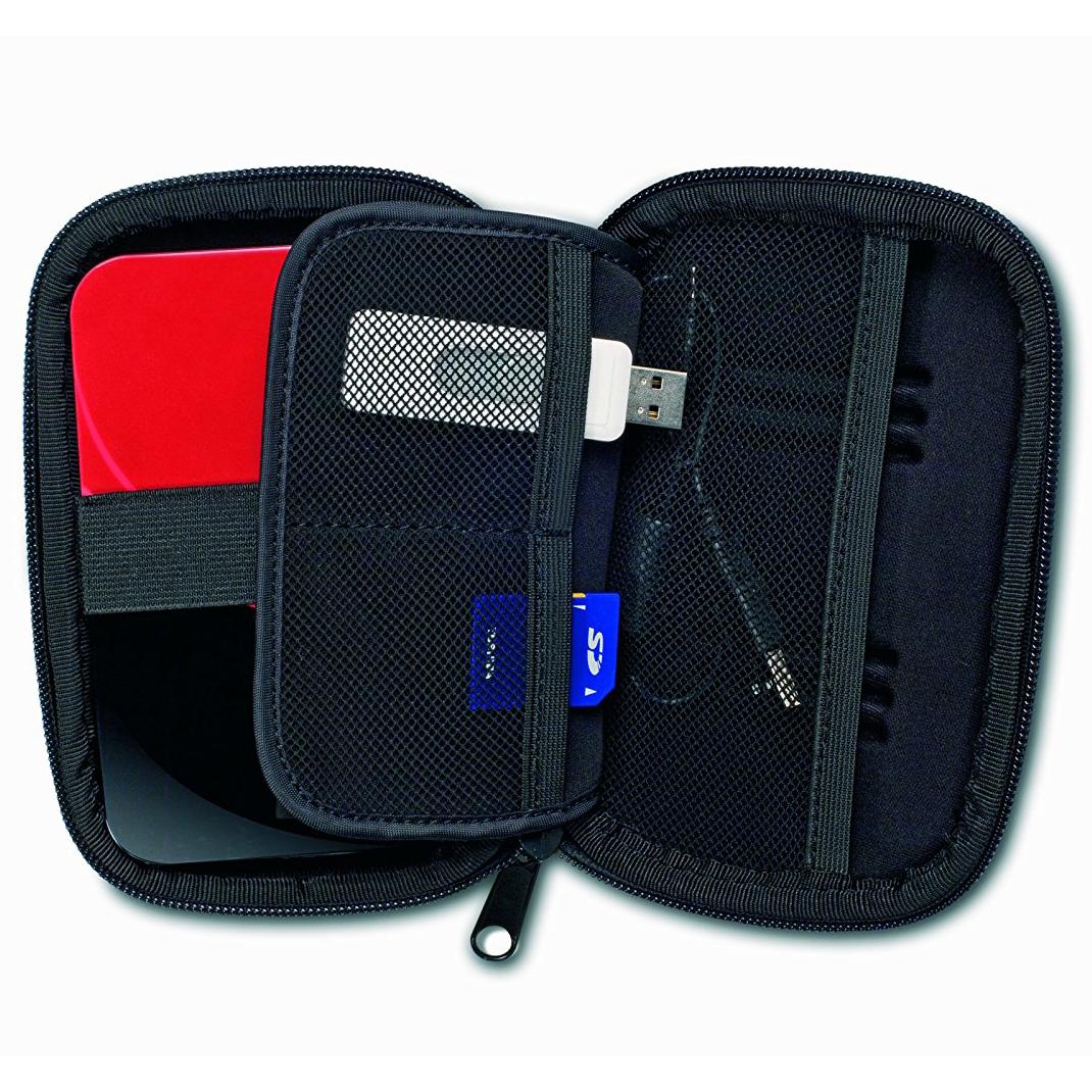Toshiba 12  Portable Hard Drive Carrying Case PA1475U-1CHD