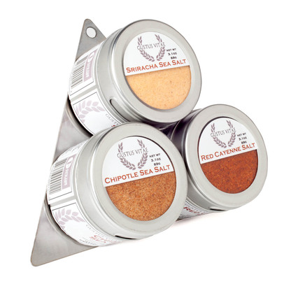 Red Hot Gourmet Sea Salt Collection