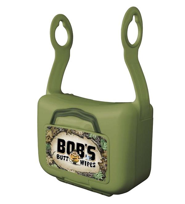 Bob S Butt Wipes Hanging Dispenser Amp 42ct Flushable Wipes