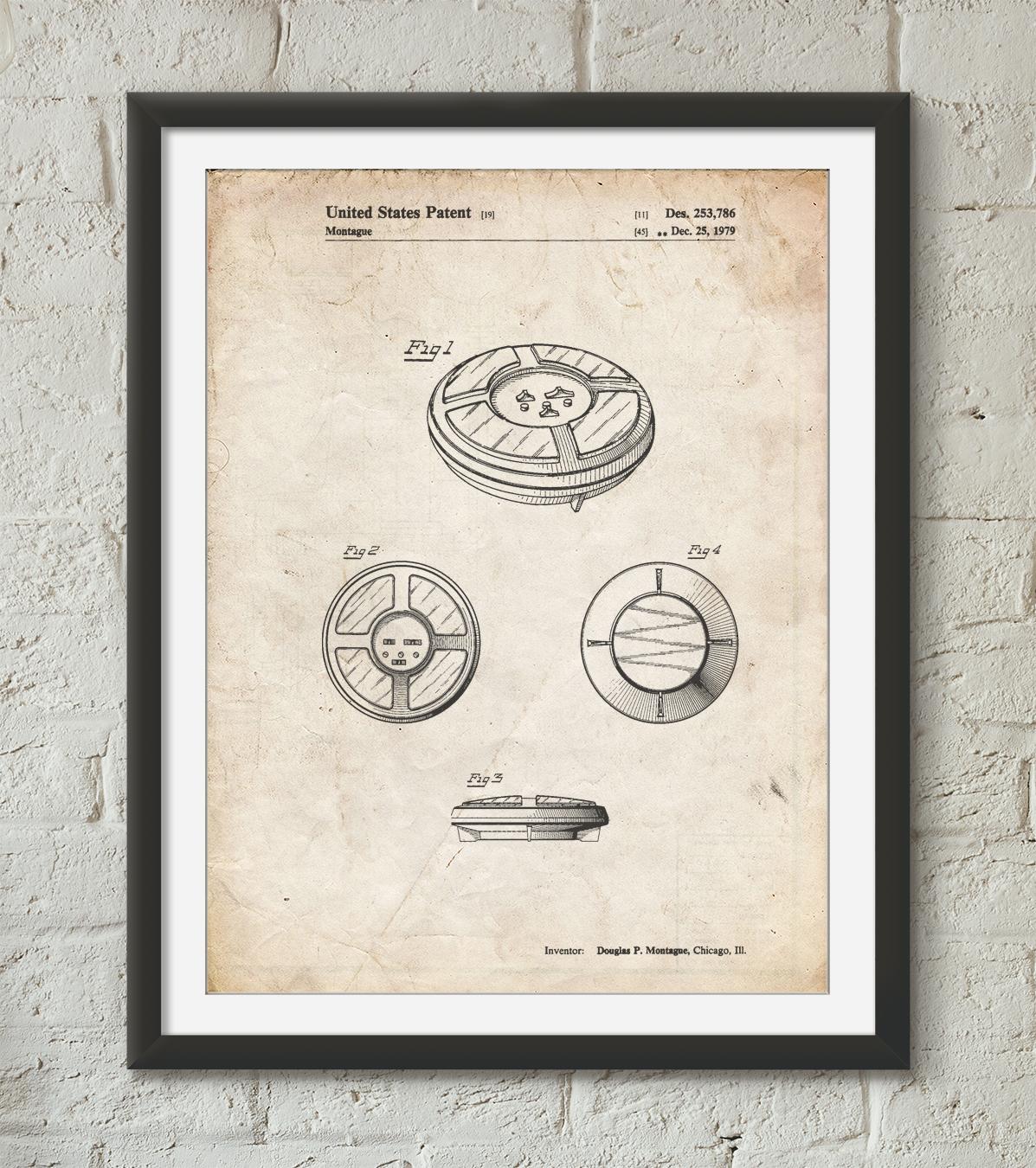 Memory Game Patent Poster